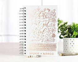 custom wedding planner personalized wedding planner etsy