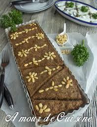 recette de cuisine libanaise kebbé libanais au four amour de cuisine