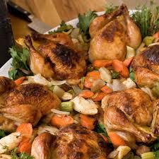 the neelys cornish hens recipe
