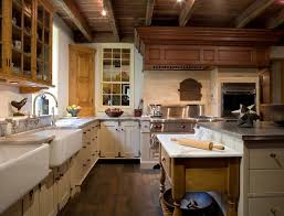 Best Country And Primitive Kitchens Images On Pinterest - Country cabinets for kitchen