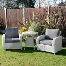 Kensington Bistro Chair Kensington Deluxe Lounge Bistro Set With A 70cm Table