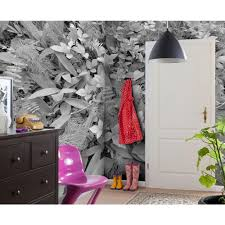 Wall Mural Forest Sunrise Wall Komar 100 In X 145 In Urban Wall Mural 8 709 The Home Depot