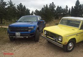 Ford Raptor Electric Truck - ford raptor and 1968 ford bronco off road mashup video the