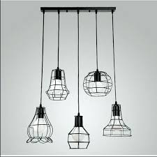 wire cage pendant light pendant light shade metal l shades mixed vintage metal wire cage
