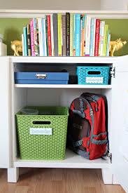 Back To School Desk Organization Iheart Organizing Back To School Organization