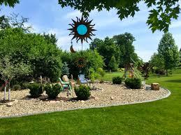 free stock photo of backyard landscaping