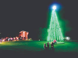 kittanning paper freeport lighted tree still available for viewers