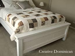 Farmhouse Bed Plans Diy Farmhouse Bed Creative Dominican