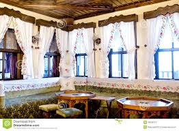 turkish traditional interior design bursa turkey editorial