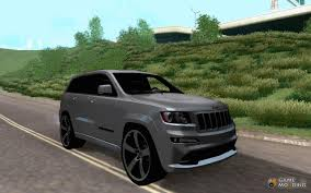 camo jeep cherokee grand cherokee srt8 2013 for gta san andreas
