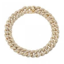 link bracelet with diamonds images 14k yellow gold diamond pave chain link bracelet jpeg
