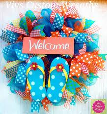 flip flop wreath flip flop wreath summer welcome wreath summer flip flop