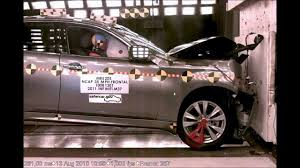nissan armada crash test infiniti m m37 m56 2011 frontal crash test nhtsa