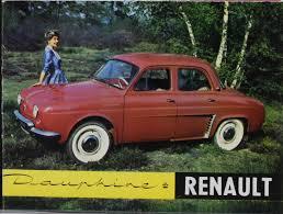 renault dauphine convertible renault dauphine 1956 1967