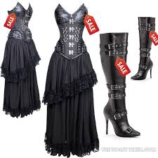 Corset Halloween Costume Steampunk Size Clothing U0026 Costumes