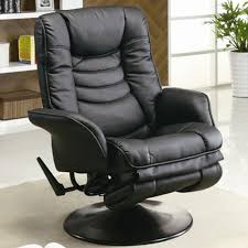 Recliner Gaming Chairs Recliners Casual Leatherette Swivel Recliner In Reclining Gaming