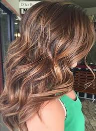 shades of high lights and low lights on layered shaggy medium length different shades of copper color in hair 2016 hair 2016 spring