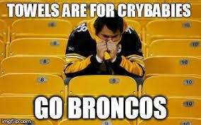 Go Broncos Meme - steelers suck imgflip