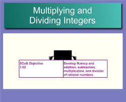 smart exchange usa multiplying and dividing integers