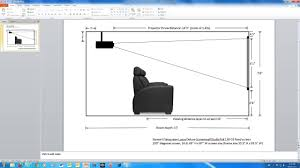 projector home theater setup optimal mounting location for jvc rs55 x70 projector avs forum