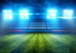how tall are football stadium lights football stadium lights stock image image of special 40027043