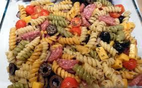italian pasta salad with salami u2013 barbie u0027s bookmarks