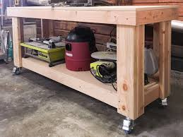 workshop wednesday miter saw stand with extra storage the