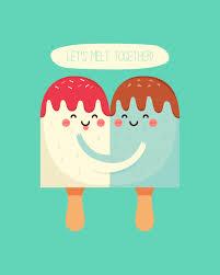 free printable let u0027s melt together valentine u0027s day ice cream print