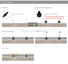 Low Voltage Landscape Lighting Parts by Aliexpress Com Buy Led Underground Light Outdoor Landscape