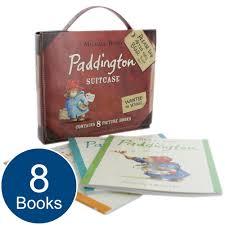 boxed paddington bear suitcase book 8 picture books