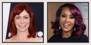 best hair color for deep winters 17 burgundy hair color ideas celebrity burgundy hairstyles