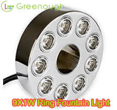 led fountain lights underwater led ring fountain light led pond light led underwater light gnh uw