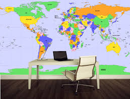 United States Map Wall Decal by 32 Large World Map Wall Decal Large World Map Wall Decal With