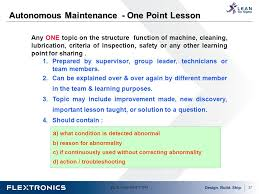 one point lesson template eliolera com