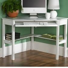 L Shaped Computer Desk White L Shaped Desks You Ll Wayfair