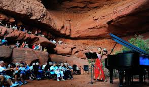 lions back moab nature provides acoustics at moab music festival upr utah public