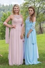 společenské šaty madlyn světle modré poshme cz
