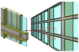 Revit Curtain Panel Curtain Walls And Panels U2013 From Design To Highly Detailed Frames