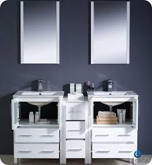 Bathroom Vanity With Side Cabinet 60