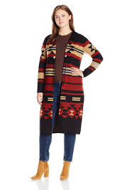 pendleton sweaters pendleton pendleton s plus size pinyon duster sweater