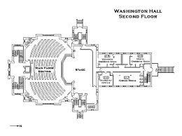 stage floor plan washington hall floor plans
