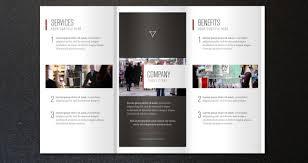fold brochure template corporate tri fold brochure template 2 brochure templates pixeden