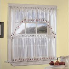 Kitchen Curtains Valances And Swags by Apple Orchard Kitchen U0026 Tier Curtains Chf Industries
