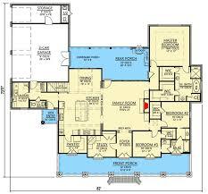 acadian floor plans 3 bedroom acadian home plan 56364sm architectural designs
