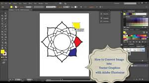 illustrator tutorial vectorize image how to convert image into vector graphics with adobe illustrator