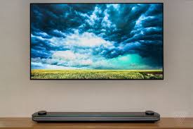 Picture Of Tv Lg U0027s New 77 Inch Oled Wallpaper Tv Is Now Available For The Price