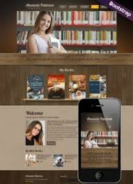 html5 templates for books books and literature website templates from www cbmcard com