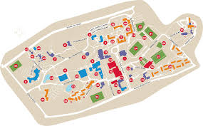 Map Sports Facility Campus Map