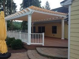 Pergola Canopy Ideas by Decor Fiberglass Pergola Canopy With Shade Canopy Also White