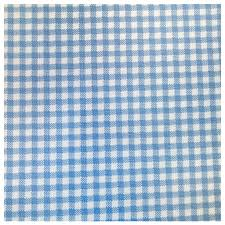 Gingham Curtains Blue Childrens Gingham Curtain Thermal Blockout Eyelet Ring Top